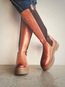 Bilde av Cognac - Going High Boots