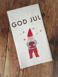 Bilde av Nisse - God Jul Serviett