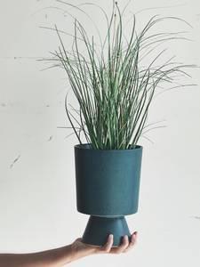 Bilde av Blå - Potteskjuler 17x24 cm