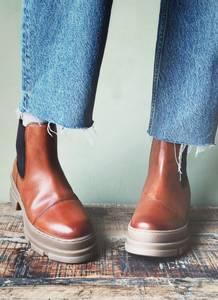 Bilde av Cognac - You and me Low Boots
