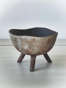 Bilde av Mørk brun - Keramikkfat på